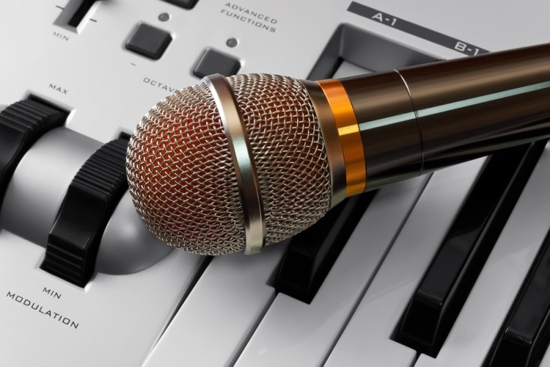 Recording with microphone