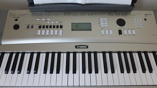 Keyboard of this yamaha model